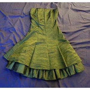 Olive Green Caché Backless Detail Dress size 2